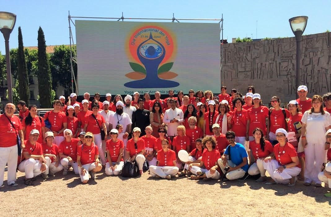 A Report On International Day Of Yoga Madrid Spain Bks At The Un