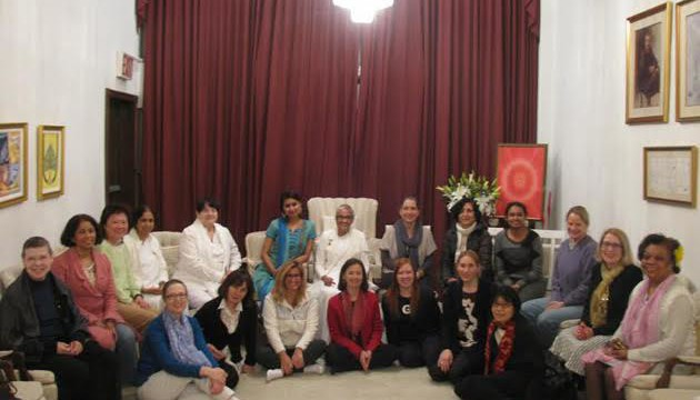 Int'l Women's Day event at the Meditation Center  & Gallery, NYC-scaled