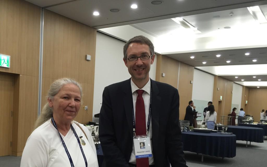 Sr. Maureen and Mr. Alexander Leicht