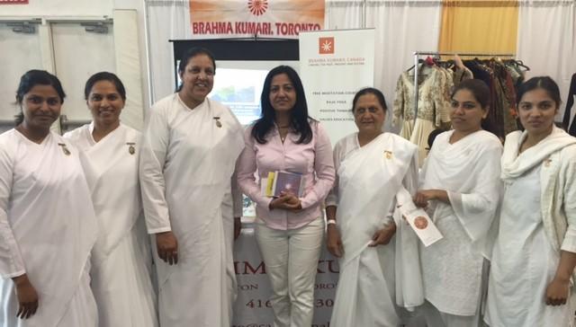 BK Sisters with Hon. Sonia Sidhu -member of parliament