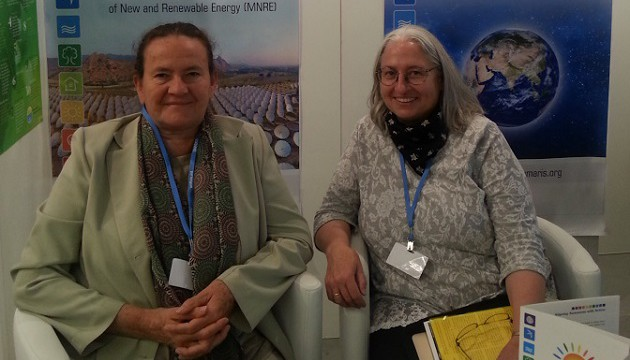 BKs participating in the Climate Chnage conference in Bonn, Germany