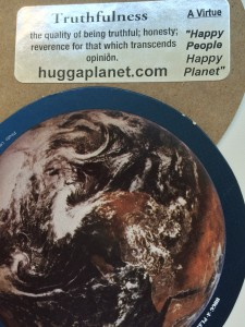 Hug A Planet with Truthfulness