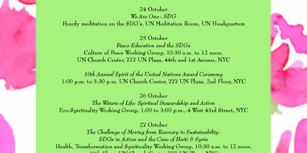 Week of Spirituality at the UN