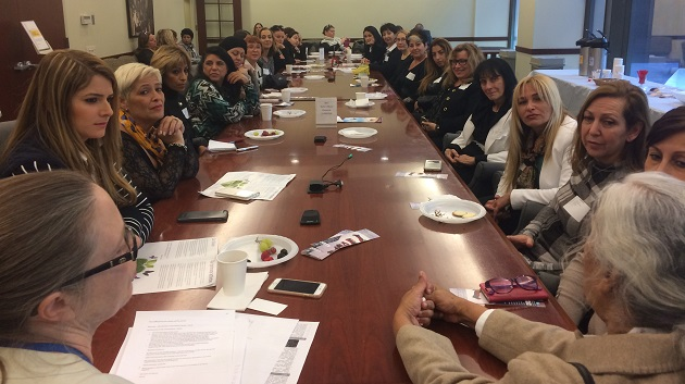 Israeli Women Leadership Forum meeting at the UN in NY
