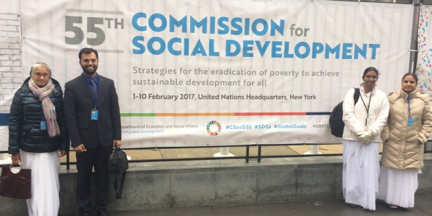 55th Session on the Commission for Social Development