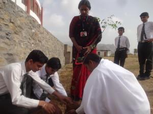 ED - Abu, planting a tree