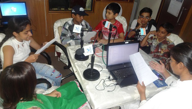 Radio Madhuban airs programs by children on World Malaria Day