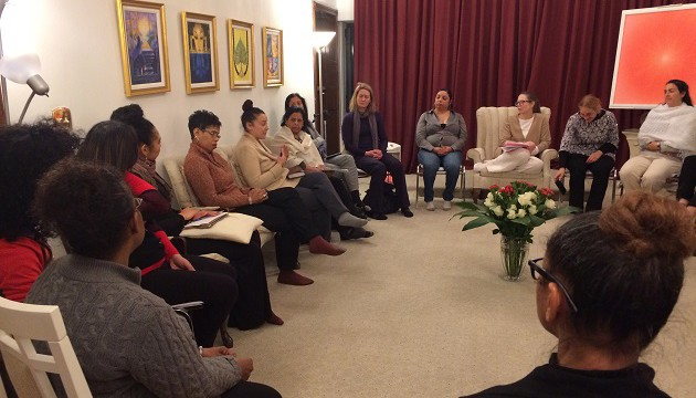 Sacred Circle and the Caring Economy, a CSW61 event at the Meditation Center, NYC