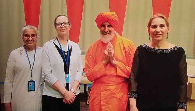 Yoga and the UN Culture of Peace with Swamiji and Denise Scotto