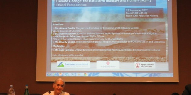 Climate Change, Extractive Industry and Human Dignity: Ethical Perspectives
