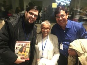 Danilo Parmegiani, Legion of Goodwill; BK Sabita; Manoj Pandey, Special Educator.