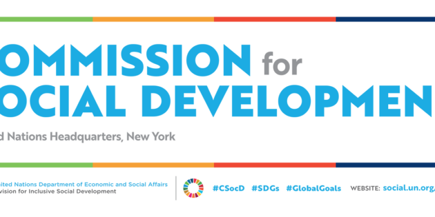 Commission on Social Development Side Events