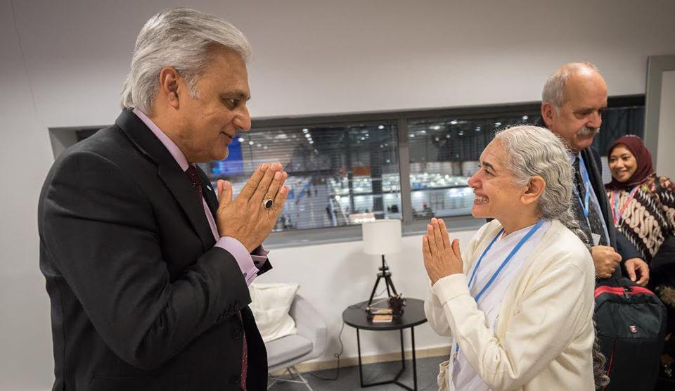 BK Jayanti meets with Deputy Executive Secretary, UNFCCC